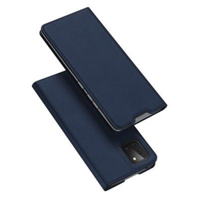 Samsung Galaxy Note 10 Lite Kotelo Dux Ducis Sininen
