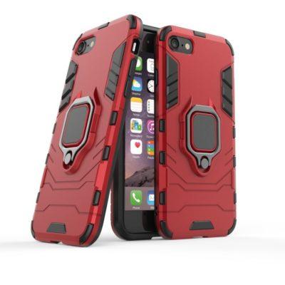 Apple iPhone 7 / 8 / SE (2020) Sormuskuori Punainen