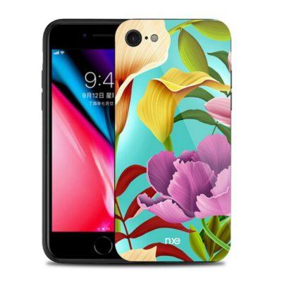 Apple iPhone 7 / 8 / SE (2020) Suojakuori NXE Kukka 2