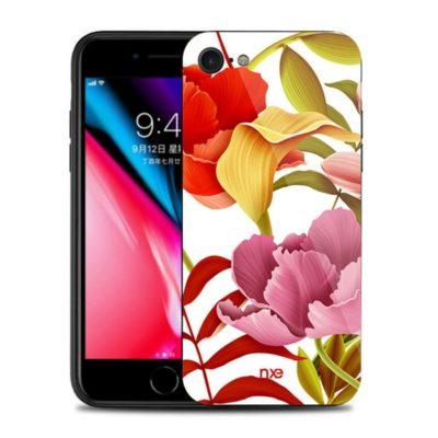 Apple iPhone 7 / 8 / SE (2020) Suojakuori NXE Kukka 6