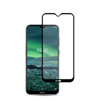 Nokia 2.3 Täysin Peittävä Panssarilasi Mocolo Musta