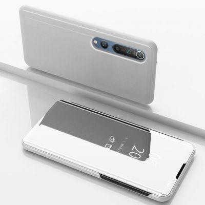 Xiaomi Mi 10 / Mi 10 Pro Kotelo Peilipinta Hopea