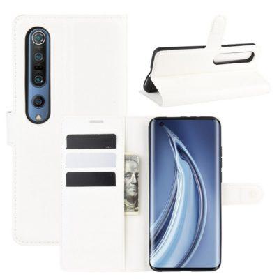 Xiaomi Mi 10 / Mi 10 Pro Lompakkokotelo Valkoinen