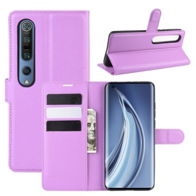 Xiaomi Mi 10 / Mi 10 Pro Lompakkokotelo Violetti