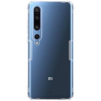 Xiaomi Mi 10 / Mi 10 Pro Suojakuori Nillkin Läpinäkyvä