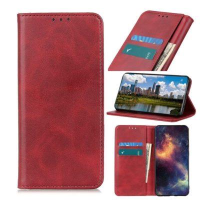 Huawei Honor 9X Lite Kannellinen Kotelo Punainen