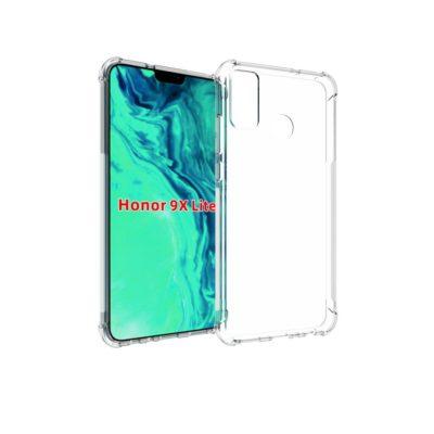 Huawei Honor 9X Lite Suojakuori TPU-Muovi Läpinäkyvä