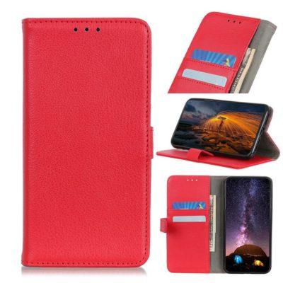 Nokia 5.3 Lompakko Suojakotelo Punainen