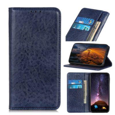 Samsung Galaxy A21s Kannellinen Kotelo Sininen