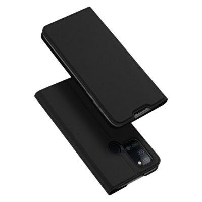 Samsung Galaxy A21s Kotelo Dux Ducis Musta