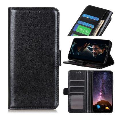Samsung Galaxy A21s Lompakkokotelo Musta