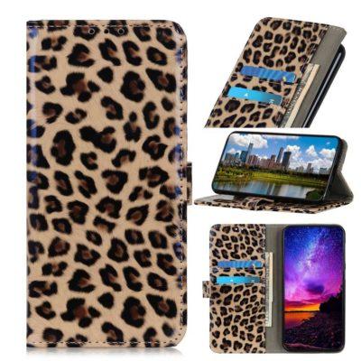 Samsung Galaxy A21s Suojakotelo Leopardi