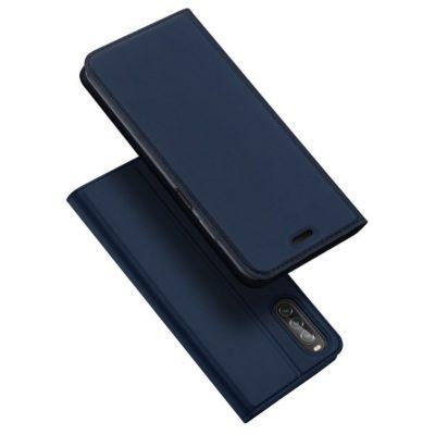 Sony Xperia 10 II Kotelo Dux Ducis Tummansininen