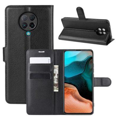 Xiaomi Poco F2 Pro Kotelo Musta Lompakko