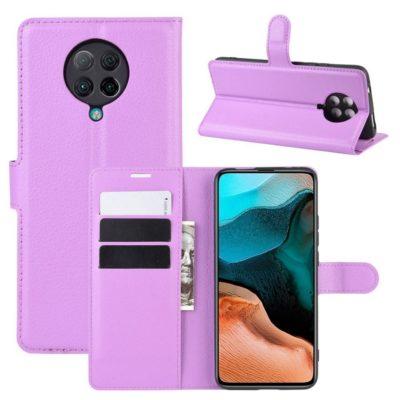 Xiaomi Poco F2 Pro Kotelo Violetti Lompakko