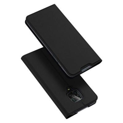 Xiaomi Redmi Note 9 Pro Kotelo Dux Ducis Musta