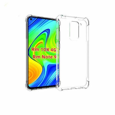 Xiaomi Redmi Note 9 Suojakuori Läpinäkyvä TPU-Muovi