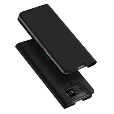 Asus Zenfone 7 5G / 7 Pro 5G Kotelo Dux Ducis Musta