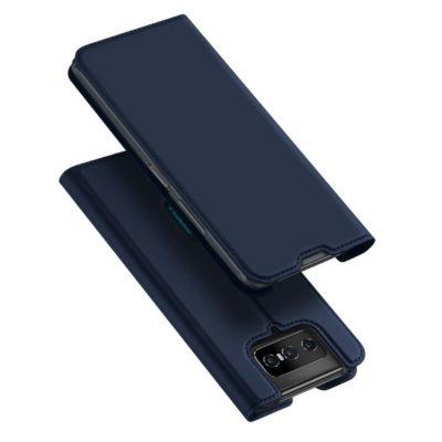 Asus Zenfone 7 5G / 7 Pro 5G Kotelo Dux Ducis Tummansininen