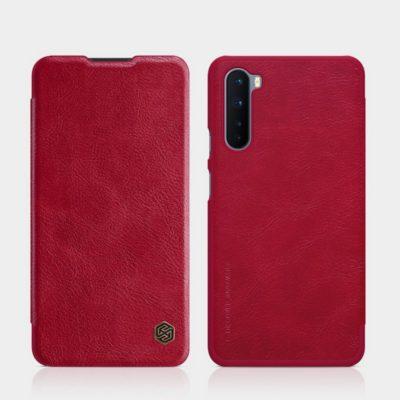 OnePlus Nord Suojakotelo Nillkin Qin Punainen