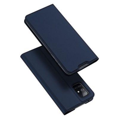 Samsung Galaxy A51 5G Kotelo Dux Ducis Tummansininen
