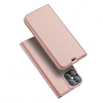 Apple iPhone 12 / 12 Pro Kotelo Dux Ducis Ruusukulta