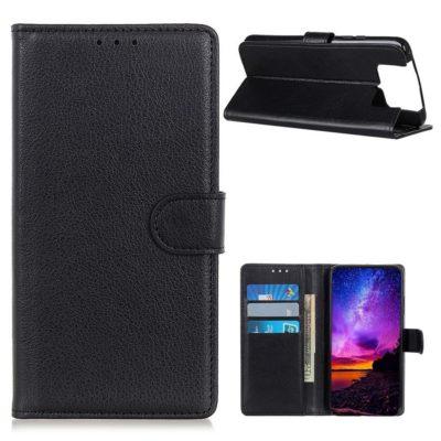 Asus Zenfone 7 5G / 7 Pro 5G Lompakkokotelo Musta