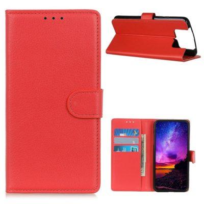 Asus Zenfone 7 5G / 7 Pro 5G Lompakkokotelo Punainen