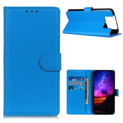 Asus Zenfone 7 5G / 7 Pro 5G Lompakkokotelo Sininen