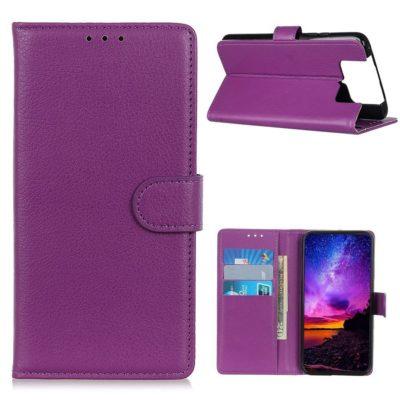 Asus Zenfone 7 5G / 7 Pro 5G Lompakkokotelo Violetti