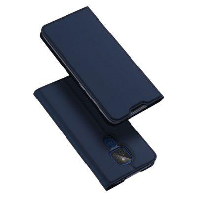 Motorola Moto G9 Play Kotelo Dux Ducis Tummansininen