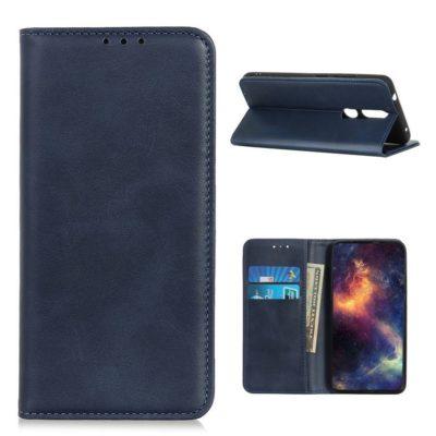 Nokia 2.4 Kannellinen Suojakotelo Sininen
