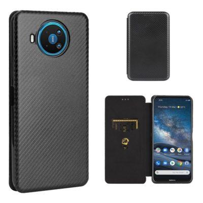 Nokia 8.3 5G Suojakotelo Hiilikuitu Musta