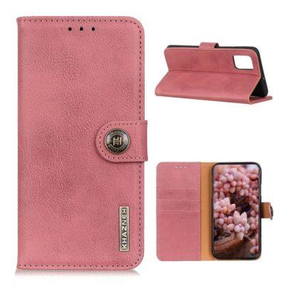 OnePlus 8T Lompakkokotelo KHAZNEH Vaaleanpunainen