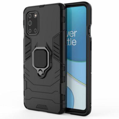 OnePlus 8T Sormus Suojakuori Musta