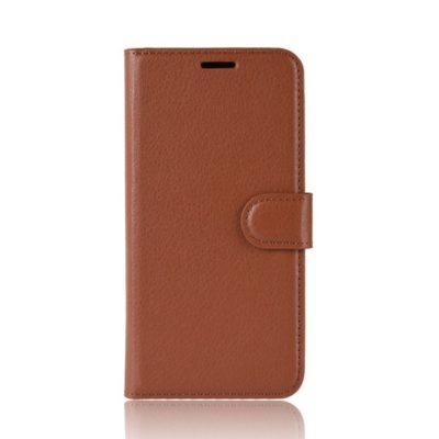 Samsung Galaxy S20 FE Kotelo PU-Nahka Ruskea