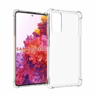 Samsung Galaxy S20 FE Kuori Läpinäkyvä TPU-Muovi