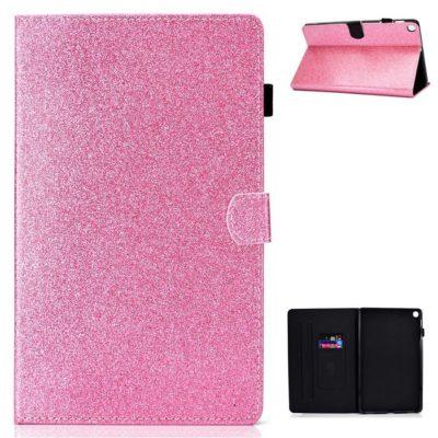 Samsung Galaxy Tab A7 10.4 Kotelo Glitter Pinkki