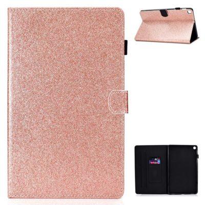 Samsung Galaxy Tab A7 10.4 Kotelo Glitter Ruusukulta