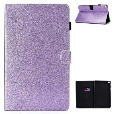 Samsung Galaxy Tab A7 10.4 Kotelo Glitter Violetti