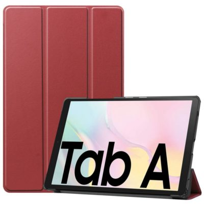 Samsung Galaxy Tab A7 10.4 Suojakotelo Viininpunainen