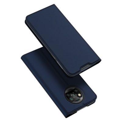 Xiaomi Poco X3 NFC Kotelo Dux Ducis Tummansininen
