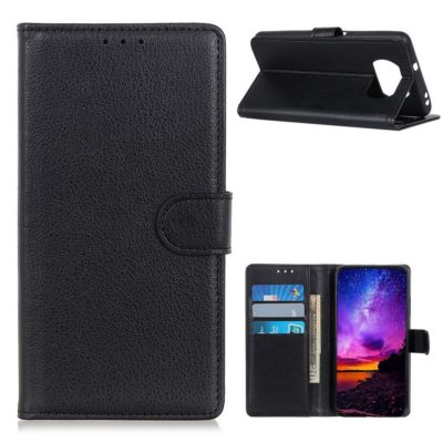 Xiaomi Poco X3 NFC Kotelo Musta Lompakko