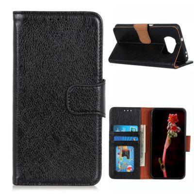 Xiaomi Poco X3 NFC Kotelo Musta Nahka