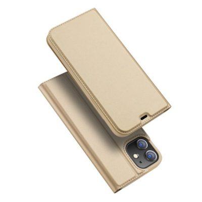 Apple iPhone 12 mini Kotelo Dux Ducis Kulta