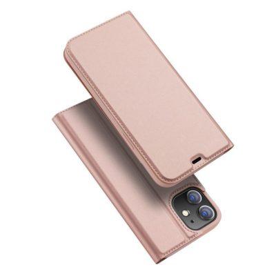 Apple iPhone 12 Pro Max Kotelo Dux Ducis Ruusukulta