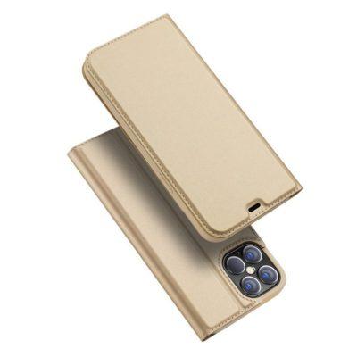 Apple iPhone 12 Pro Max Kotelo Dux Ducis Kulta