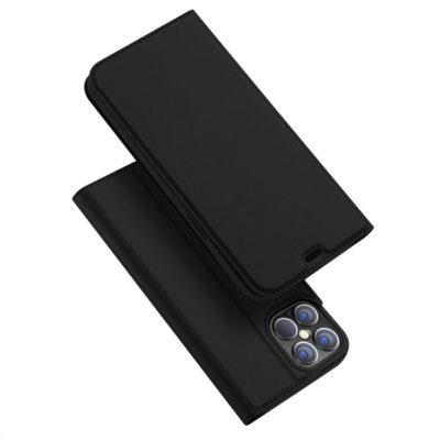 Apple iPhone 12 Pro Max Kotelo Dux Ducis Musta