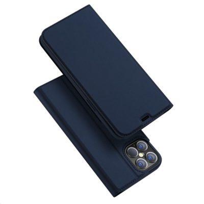Apple iPhone 12 Pro Max Kotelo Dux Ducis Sininen