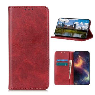 Nokia 3.4 Kannellinen Suojakotelo Punainen